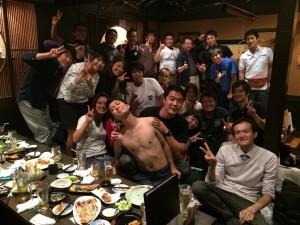 合同懇親会(もっとマシな写真ないんかい!)