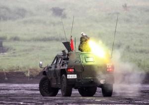 前段5・近距離火力・普通科火力3-8_01式軽対戦車誘導弾(軽装甲機動車)