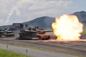 戦車火力(10式戦車)